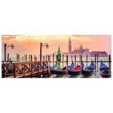 RVB15082 Foto & Paesaggi - Gondole A Venezia - Puzzle Panorama da 1000 pezzi
