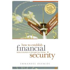 How to establish financial security. Biblical solutions to manage your money