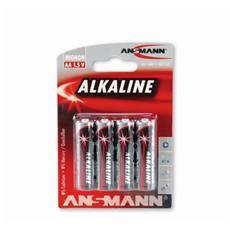 Confezione 4 Batterie Alcaline AA