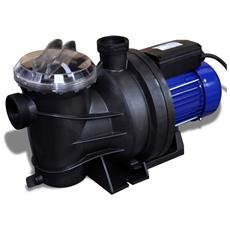 Pompa Di Filtrazione Elettrica Per Piscina 800w Blu