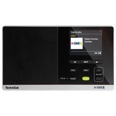 Radio Digitale 215 SWR4 Sintonizzatore UKW / DAB / DAB+ Ingresso AUX Colore Nero