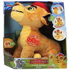 Lion Guard (The) - Kion Peluche Interattivo Cm. 30 Con Suoni