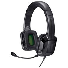 Cuffie con Microfono per Giochi PC Connessione Cavo Nera 1 m