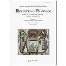 Bollettino dantesco. Per il settimo centenario (2014) . Vol. 3