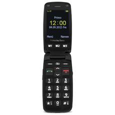 "Primo 406 Nero Display 2.4"" +Slot MicroSD Bluetooth Fotocamera e RadioFM - Europa"
