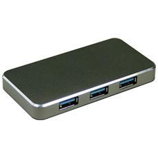 HUB USB 3.0 Zero Line - 4 porte alimentato