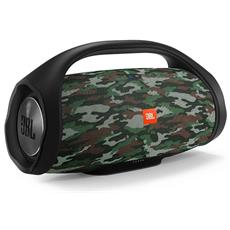 Speaker Portatile BoomBox Wireless Bluetooth Waterproof Batterie Ricaricabili Microfono Vivavoce JBL Connect+ Colore Camouflage