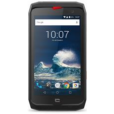 "Action X3 Nero / Rosso 32 GB 4G / LTE Impermeabile Display 5"" HD Slot Micro SD Fotocamera 12 Mpx Android Tim Italia"