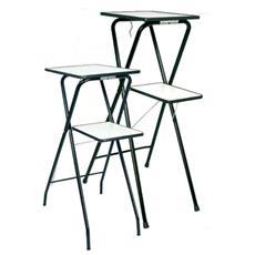 Tavolo pieghevole per proiezione modello SPEEDY piano superiore 30x40 cm
