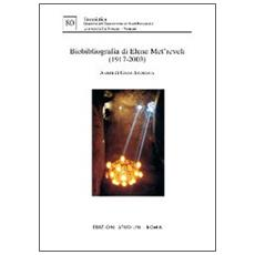 Biobibliografia di Elene Met'Reveli (1917-2003)