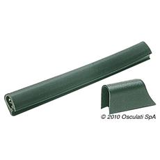 Profilo PVC mm 37 x 45 nero