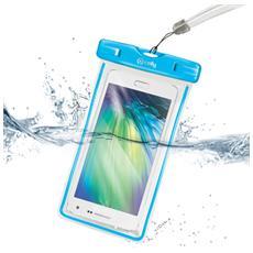 """Bag Waterproof per Smartphone fino a 6"""" - Blu"""