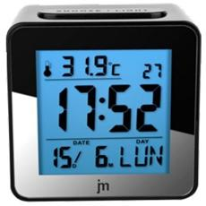 Jd9026-orologio Con Sveglia-sveglia Jd 9026 Digitale Quarzo Silver