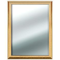 Specchio Da Parete Mirror Sharon 60x80 Cm Gold