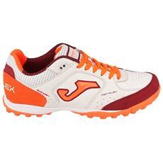 22116d6d736b4 JOMA - Scarpe Calcetto Joma Top Flex Tf Taglia 44 - Colore  Bianco   arancio