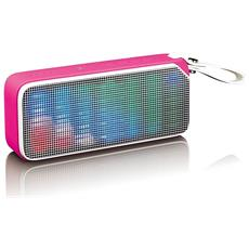 BT-191 Stereo portable speaker 7W Rosa