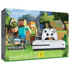 MICROSOFT - Console Xbox One S 500 Gb + Minecraft Limited Bundle