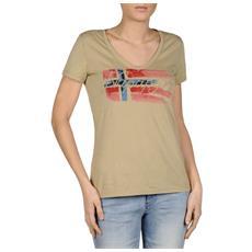 T-shirt Donna Sandra L Beige
