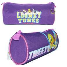 Tombolino Portacolori Per La Scuola O Il Disegno In Tessuto Looney Tunes Tweety