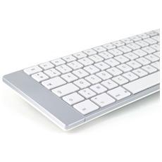 ML300900, Bluetooth, AZERTY, Senza fili, Argento, Batteria