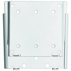 M VESA Wallmount I Silver 75x75 100x100 Argento supporto da parete per tv a schermo piatto