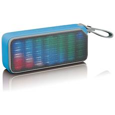 BT-191 Stereo portable speaker 7W Blu