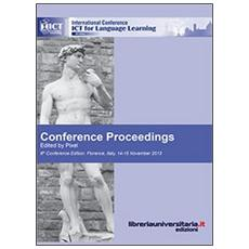 Conference proceedings. ICT for language learning