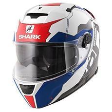 Casco Integrale Speed-r 2 Sauer Ii Xs Bianco / blu / rosso
