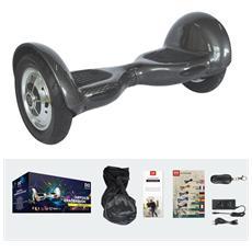 10 Pollici Hoverboard Smart Balance Monopattino Elettrico Pedana Scooter Bluetooth Due Ruote Con Lithium Batteria Carbon