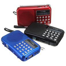 Cassa Speaker Con Registratore Vocale Radio Fm Lettore Mp3 Sd Usb Streo