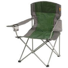 Sedia Da Campeggio Pieghevole Verde Sabbia 53x82x88cm 480046