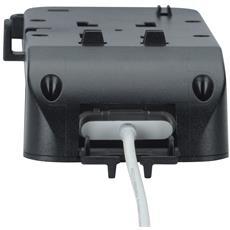 T5-30410, Telefono cellulare / smartphone, Lettore MP3, Auto, Nero, 0 - 60, 360, 146g