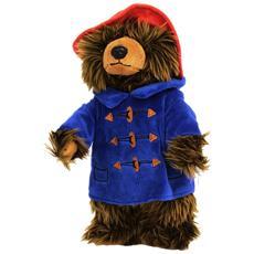 608276, Orso giocattolo, Blu, Marrone, Rosso, 25 cm, 270g