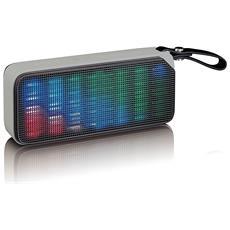 BT-191 Stereo portable speaker 7W Nero, Grigio