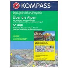 Carta digitale Italia n. 4310. Trentino, Alto Adige, Dolomiti. Con 3 DVD-ROM digital map. Ediz. italiana e tedesca