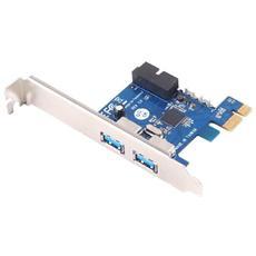 PCI express card 2+2 Porte USB 3.0