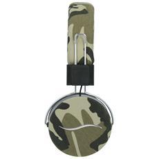 Cuffie Hi-Deejay On-Ear con Control Talk Colore Verde Militare