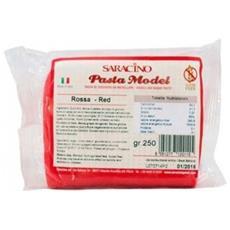 Pasta di zucchero model 250gr. rosso