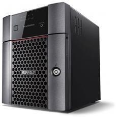 NAS Terastation 3410DN 4 Slot Hard Disk (4 Hard Disk da 2 TB installati) Interfacce 2 x Ethernet 1000Base-T - RJ-45 / 2 x USB 3.0