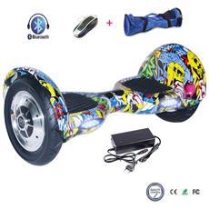10 Pollici Hoverboard Smart Balance Monopattino Elettrico Pedana Scooter Bluetooth Due Ruote Con Lithium Batteria Hip-hop