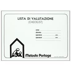 Il metodo Portage. Guida Portage all'educazione precoce. Checklist