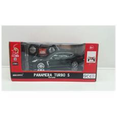 Porsche - Porsche Panamera Turbo S - Radiotelecomandata - Scala 1:24 - Nera