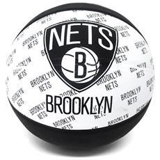 2015 Nba Team Size 7 Rubber Basketball - Nets Rubber