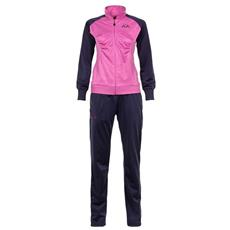 Tuta sportiva Donna Tuta TAFERY Training Size XS Col. Marine-Violet Orchid