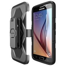 Custodia Prime per Galaxy S6 Colore Nero
