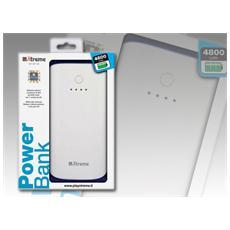 51516, Polimeri di litio (LiPo) , USB, Bianco, USB, Plastica, Universale