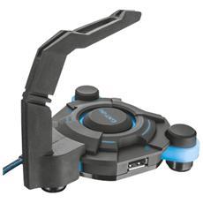 Hub USB 4 Porte con tendifilo per mouse GXT 213