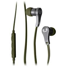 FRESH N REBEL - Auricolari In-Ear Lace Earbuds - Verde Militare