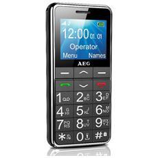 """VOXTEL SM250 Cellulare Senior Phone Display 1.8"""" +Slot MicroSD con Tasti Grandi Tasto SOS e suono amplificato colore Nero - Italia"""