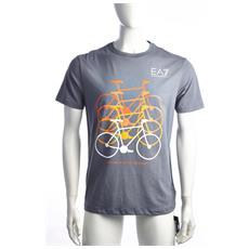 T-shirt Uomo Train City Bike L Grigio